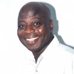 The late Frank Odoi, who was known for his Ako Khan cartoon series.