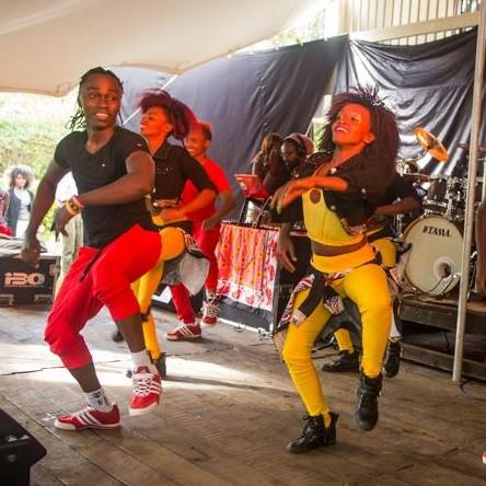 Sarakasi Dancers