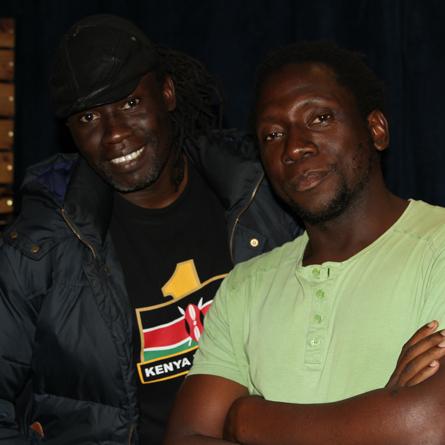 Leo Mkanyia and Makadem