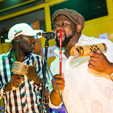 Boaz Jagingo with Ricky Nanjero
