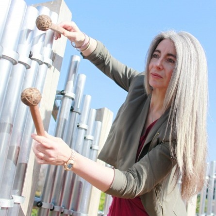 Scottish percussionist Dame Evelyn Glennie - Credit Caroline Purday